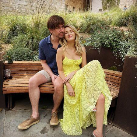 Torrance with his girlfriend, source Instagram