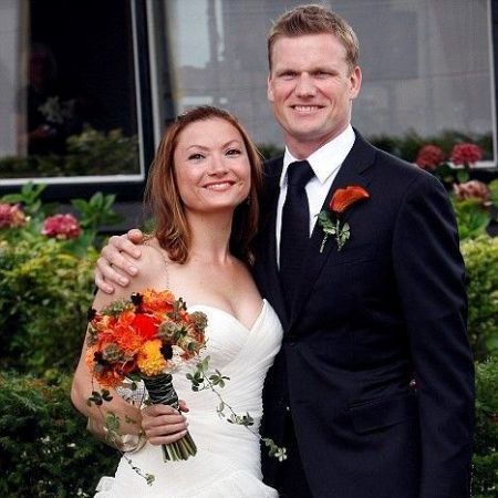 Zoe's parents wedding picture