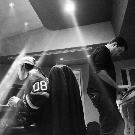 Deacon Frey on his studio, source Instagram