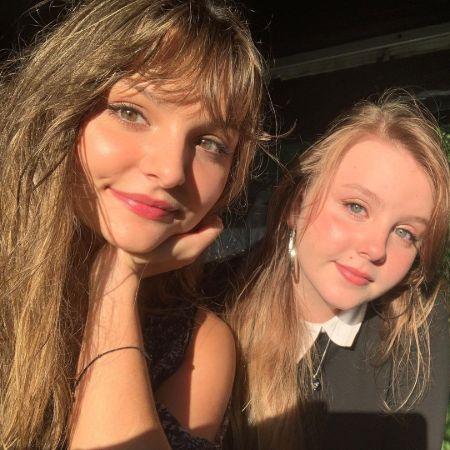 Cassady with her best friend, source instagram