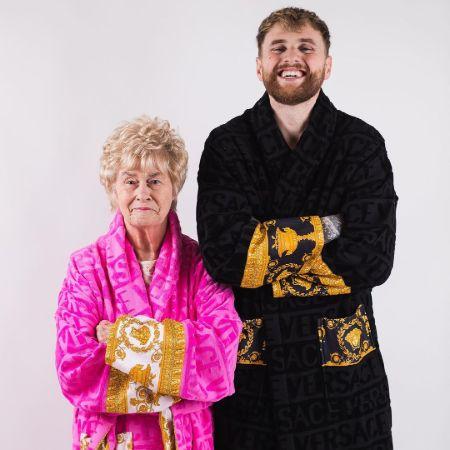 Kristen with his granma