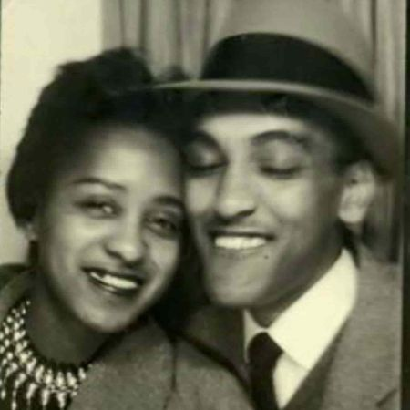 Marla with her husband