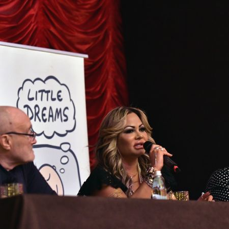 The Little Dreams Foundation press conference was convened by Phil Collins and Orianne Cevey in Miami Beach, Florida, on October 18, 2017.