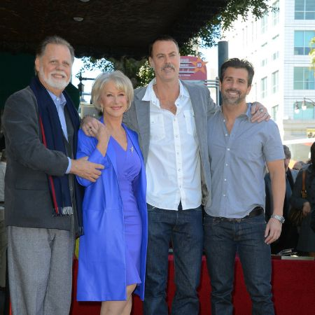 Rio Hackford with his Father and Stepmother and Stepbrother