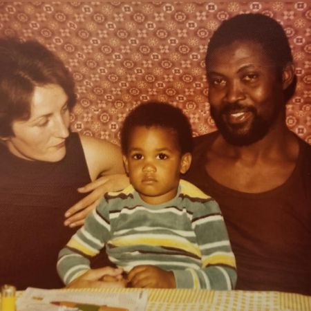 Boris as a kid with his parents