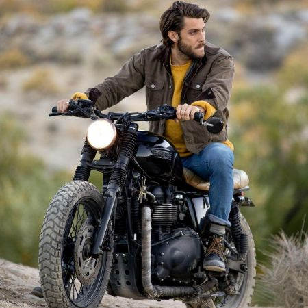Tran with his fav moto