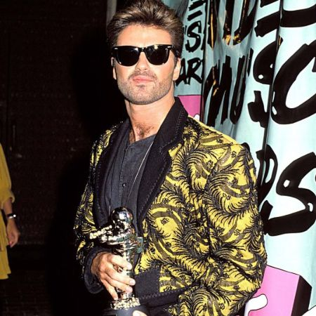 when George received the @mtv Video Vanguard Award, 1989
