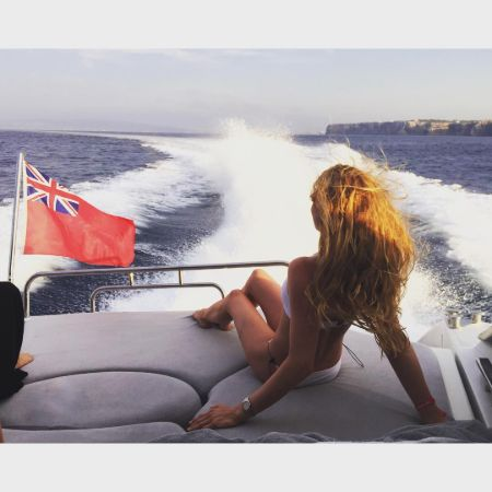 Hannah in Formentera