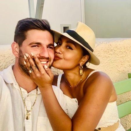 Jessica and her fiance