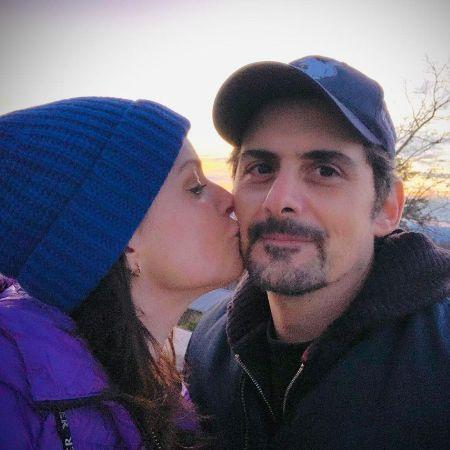 Kimberly with her husband Brad