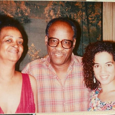Picture of Bridgid with her grandparents
