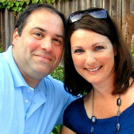 Linda with her husband Tom