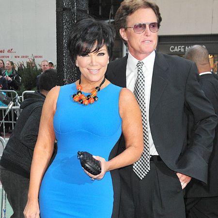 Kris with her former husband, Robert, source Pinterest