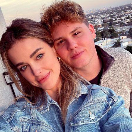 Ashley with her boyfriend Matt Shively in Valentine Day, source Instagram