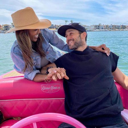 Tayshia with her fiance, Zac Clarke, source Instagram