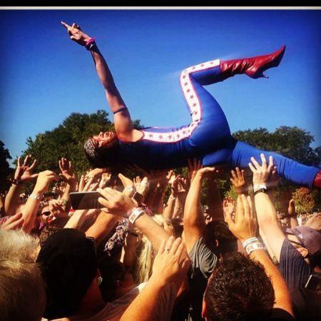 Juliette's rocknroll stage performance in the USA, source Instagram