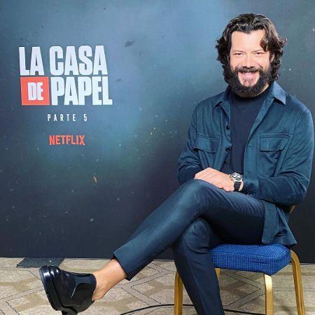 Blanca's husband Alvaro's hit series, source Instagram