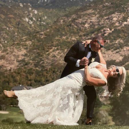 Sharee on her wedding, source Instagram