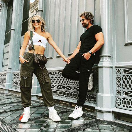 Gabriel with his beloved girlfriend Irina Baevam, source Instagram