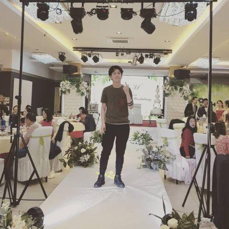Kanghua Ren attending his uncles wedding, source Instagram