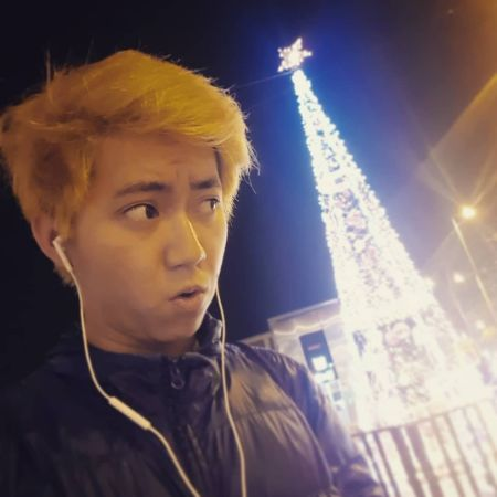 Kanghua Ren celebrating christmas, source Instagram
