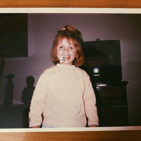 Ana Jara Martinez in her childhood, source Instagram anajaramartinezok