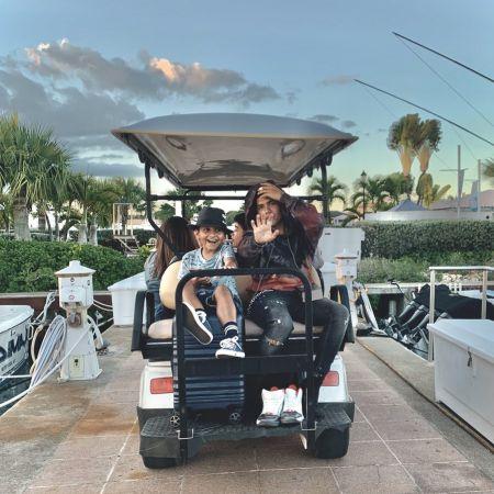 Miguel enjoying his holiday on Casa de Campo Resort and Villas, source Instagram