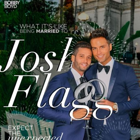 Bobby Boyd with his husband, Josh Flagg, source Instagram