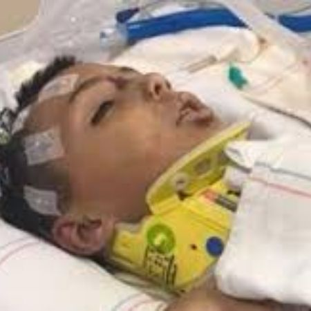 Anthony horrific condition, source Pinterest
