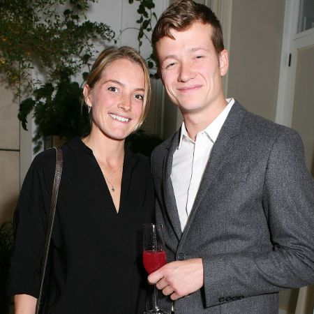 Asia Macey with her husband Ed Speleers, source MarriedCeleb (1)
