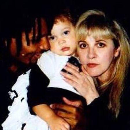 David's ex-girlfriend, Lisa and their daughter Cheyenne, source Instagram (1)