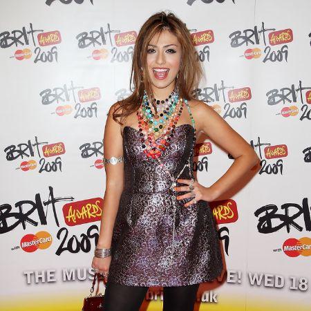 Gabriella Cilmi arrives for the Brit Awards 2009