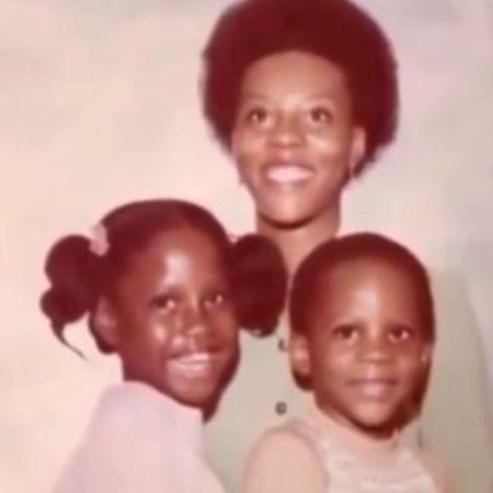 Joe Barker's Arnett Simmons with her children DMX and Bonita (1)