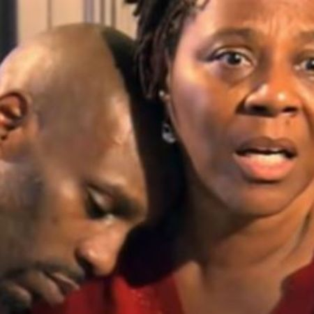 Joe Barker's son DMX with his mother Arnett Simmons after their reunion in 2012- Source YouTube (1)