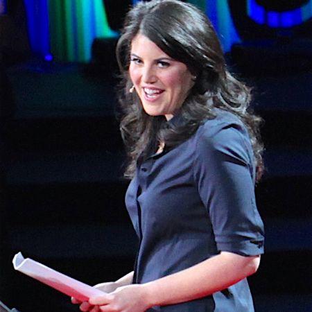 Monica at an event.