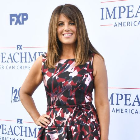 """Monica Lewinsky attends the premiere of FX's """"Impeachment: American Crime Story"""" at Pacific Design Center on September 01, 2021 in West Hollywood, California."""