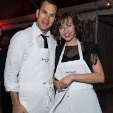 ich with his wife Kristen, source Zimbio (1)