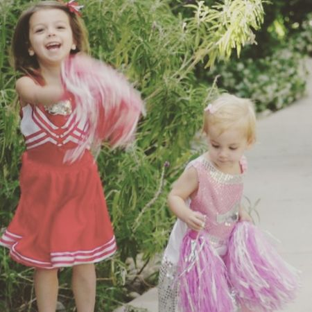 Quinn with sibling