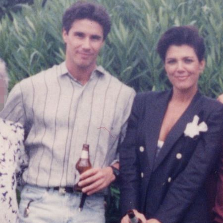Todd Waterman with cris jenner in younger days