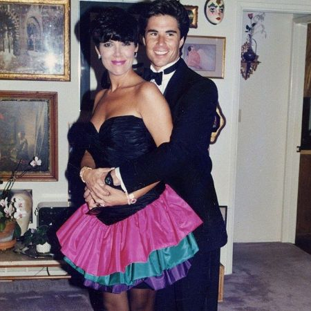 Todd with his ex-girlfriend, Kris Jenner, source Pinterest (1)