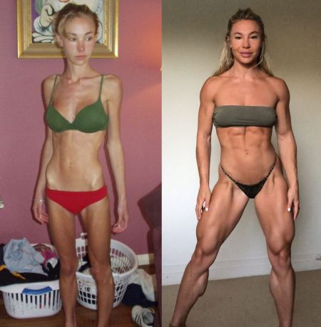 Hattie's Body Transformation:Before and After
