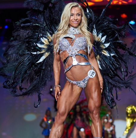 Hattie in the week of the WBFF Worlds