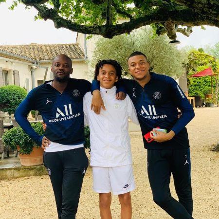 : Kylian Mbappé, Ethan Mbappé, Jirès Kembo Ekoko