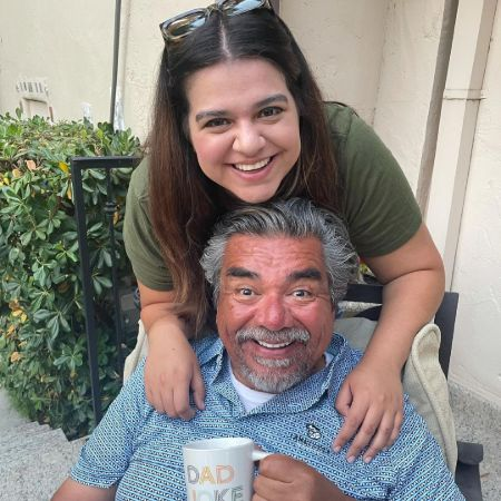 Mayan and her Dad George