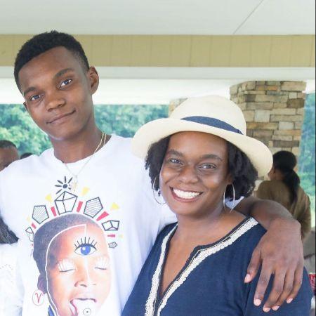 kenyatta matthews and her son