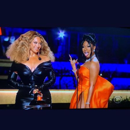 Megan and Beyonce