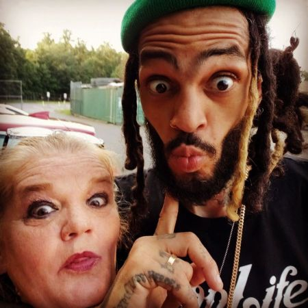 Travie and his mom