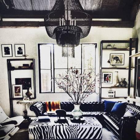 Her interior designing work, source Instagram