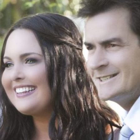 Cassandra Jade Estevez with her dad